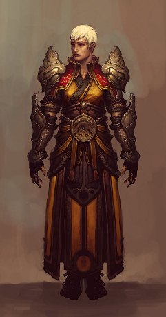 Diablo III Monk Female