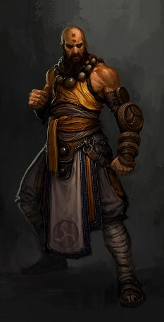 Diablo III Monk Male