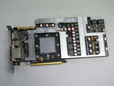 Zotac GeForce GTX 580 Extreme Edition PCB
