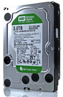 WD 3TB Hard Disk