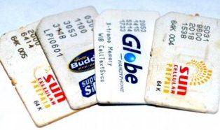 Prepaid Sim Cards Globe Smart Sun