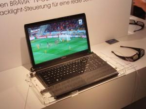Sony VAIO F 3D laptop specs