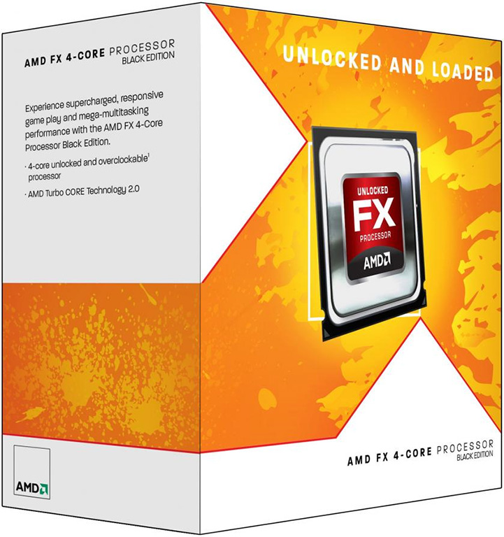AMD FX 4-Core black Edition processor Zambezie