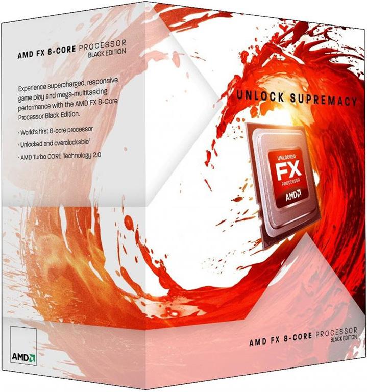 AMD FX 8 Core BE Processor Zambezie