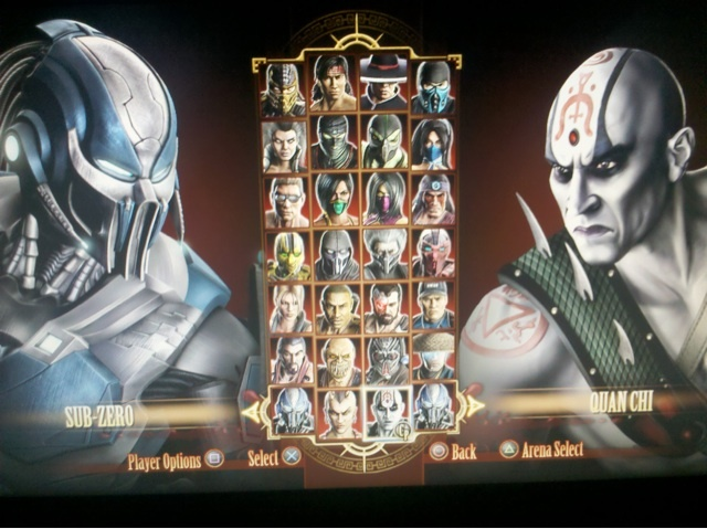 mortal kombat 9 jade and kitana. in Mortal Kombat 9.