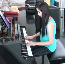 Alodia Gosiengfiao Plays Chrono Cross Dead Sea OST on her Piano