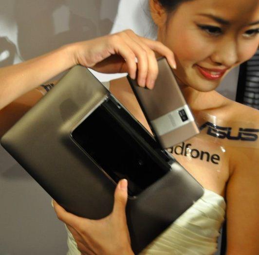 Computex 2011 Asus PadFone - Back