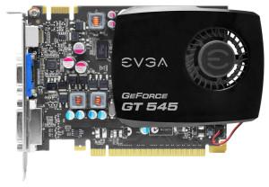 EVGA GeForece GT 545 1.5GB