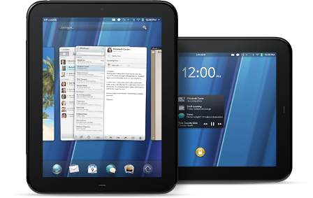 HP TouchPad discontinued