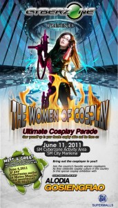 The Women of Cosplay SM Cyberzone