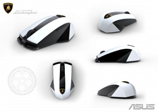 Asus WX-Lamborghini wireless laser mouse