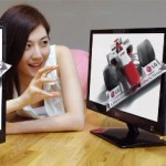 LG D2000 the World's First Glasses-Free 3D Monitor