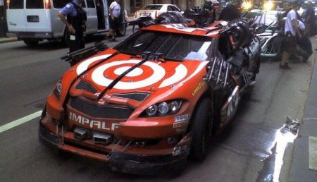 Leadfoot Transformers 3 - Juan Pablo Montoya NASCAR