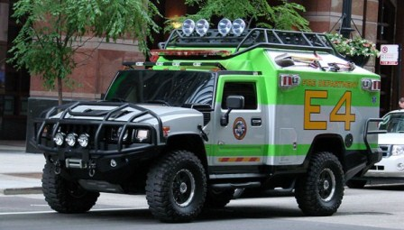 Ratchet Search and rescue Hummer H2 Transformers 3