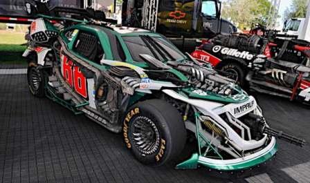 Roadbuster Transformers 3 - NASCAR No 88 Dale Earnhardt Jr. Chevy