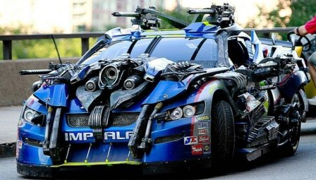 Topspin Transformers 3 - Jimmie Johnson NASCAR