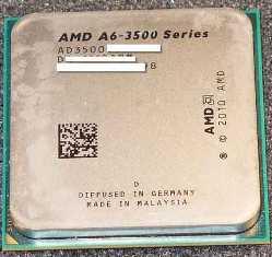 amd a6-3500 triple core apu