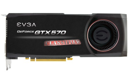 evga geforce gtx 570 classified specs