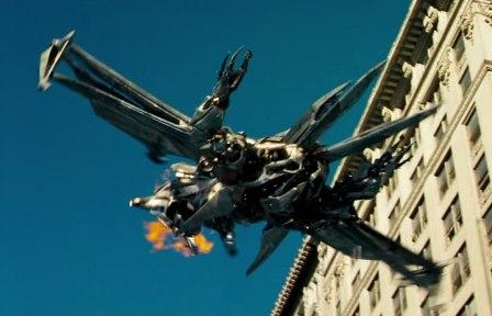 megatron jet form transformers 2007