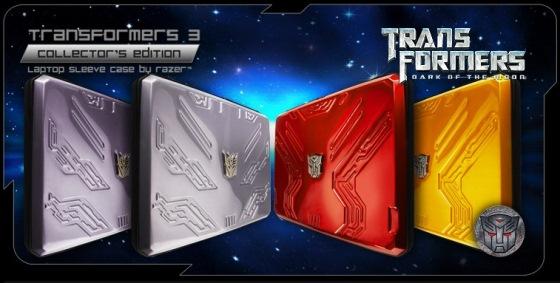 razer transformers 3 laptop case sleeve