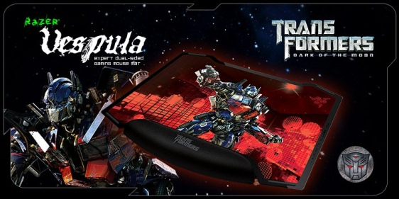 razer vespula transformers 3 gaming mat