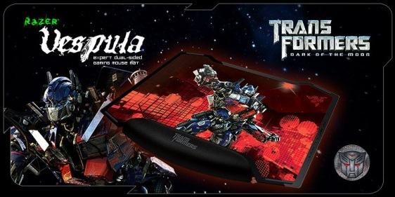 razer vespula transformers 3 gaming mat