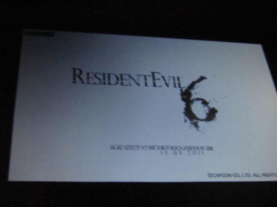 resident evil 6 logo leaked