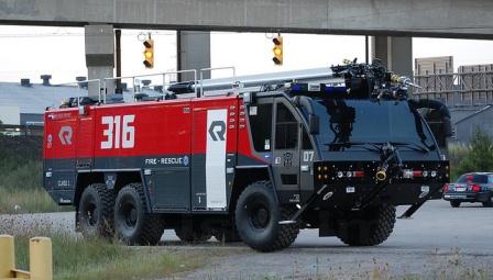 sentinel prime Rosenbauer Panther Airport crash tender fire truck