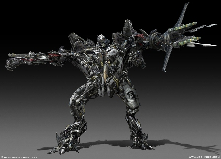 transformers 3 starscream