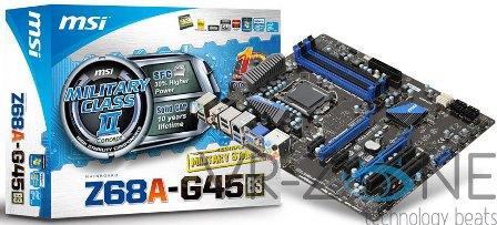 MSI Z68A-G45 Price