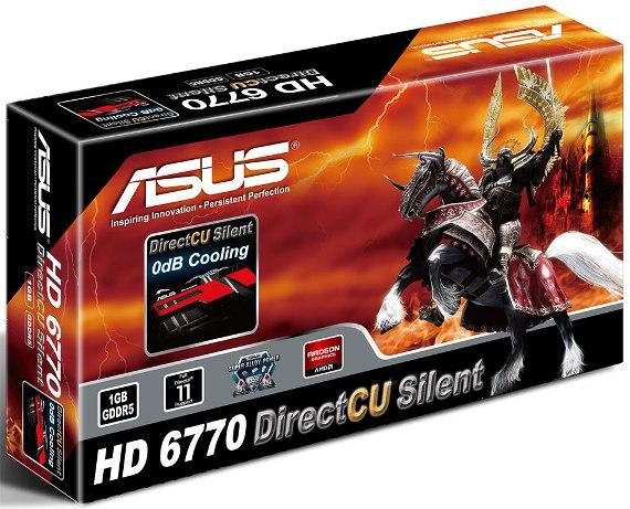 Asus Radeon HD 6770 DirectCu box