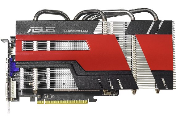 Asus Radeon HD 6770 DirectCu graphics card