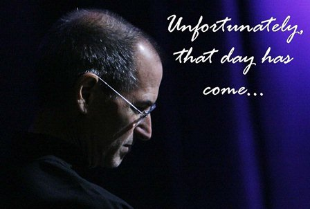 Why Steve Jobs resigned