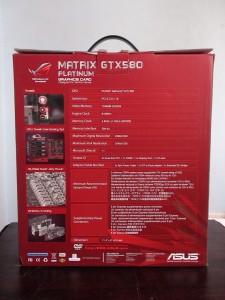 asus matrix gtx 580 platinum box