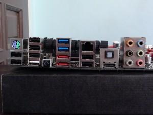 maximus iv gene-z backpanel connectors