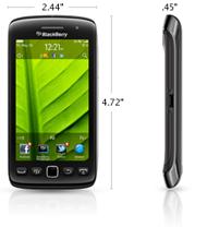 blackberry torch 9860 size dimension