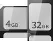 blackberry torch 9860 storage capacity