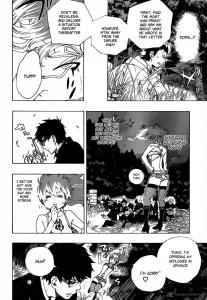 blue exorcist manga chapter 27