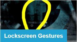 LockScreen Gestures