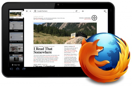 firefox for tablets running on android 2.3 honeycomb