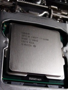 intel core i7 2600k second generation processor