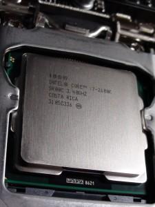 intel core i7 2600k second generation processor