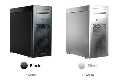 lian li pc-90b and pc-90a - The Hammer Black and White