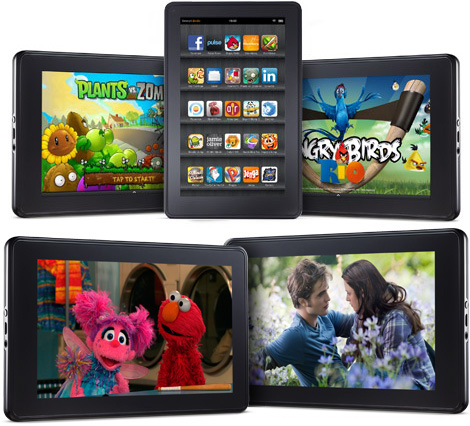 kindle fire vs nook color vs ipad 2