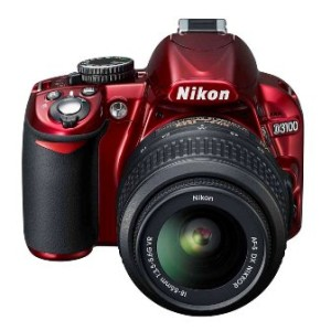 red-nikon-d3100-specifications
