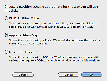 formatting a hard drive for mac