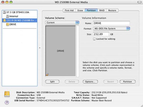 reformat external hard drive for mac