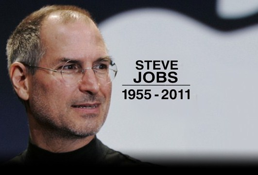 steve jobs died message to steve jobs
