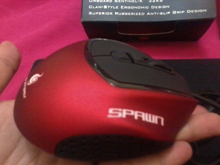 spawn gaming mouse review