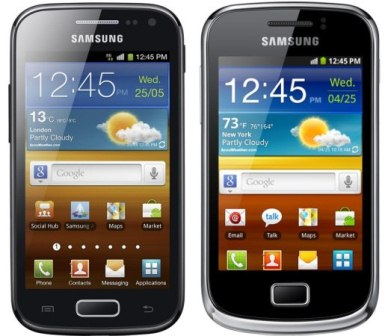 samsung galaxy ace 2 vs samsung galaxy mini 2
